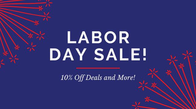 Labor Day Weekend Sale 2020