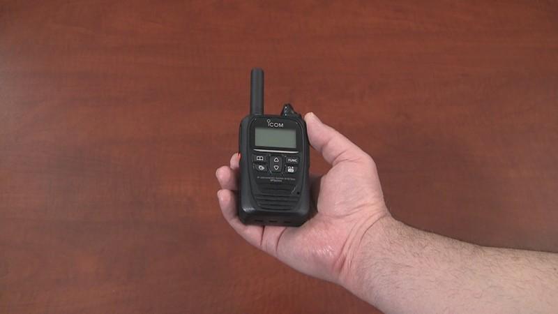 The Icom IP501H LTE radio video