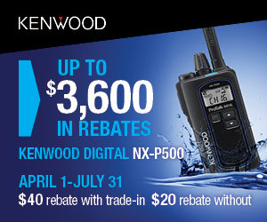 Kenwood NX-P500 $20-$40 Rebate Offer!