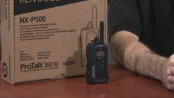 The Kenwood ProTalk NX-P500 radio video