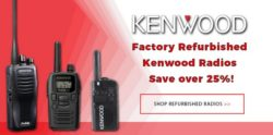 Kenwood Factory Authorized Refurbished Radios are here!