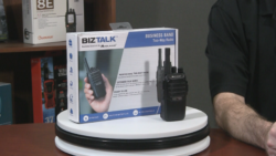 The Midland BizTalk BR200 business radio video