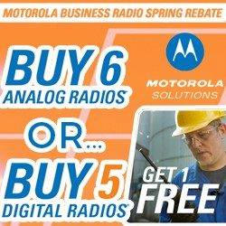 Motorola Move up to Digital free radio offer!
