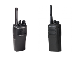Differences between the Motorola CP200 and Motorola CP200d
