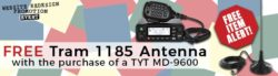 Get a FREE antenna when you buy a TYT MD-9600!