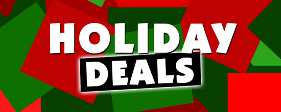 Holiday Deals 2018 Banner