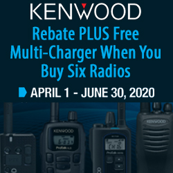Kenwood $100-$200 Rebate Plus Free Multi-Charger Promotion Q2 2020
