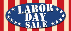 Labor Day Sale on two way radios and accessories!