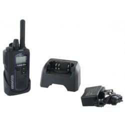 Kenwood ProTalk NX-P500 in holster with charger and AC adapter
