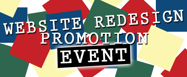 Website Redesign Promotion Event