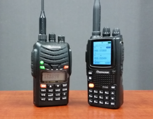 The new Wouxun KG-UV7D and KG-UV9P high powered portables